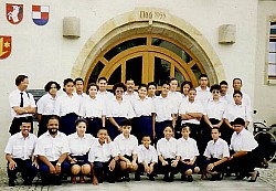 1994 Tour group in Dettingen, Germany